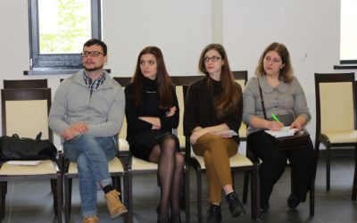The sixth working meeting of the Democracy Study Centre